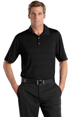 DISCONTINUED Nike Golf 429438 Elite Series Dri-FIT Heather Fine Line Bonded Polo