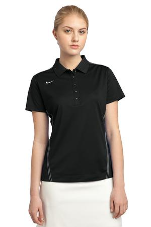Nike Golf 452885 Ladies Dri-FIT Sport Swoosh Pique Polo