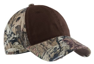 Port Authority® C807 Camo Cap with Contrast Front ...