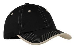 Port Authority® C835 Challenger™ Vintage Washed Contrast Stitch Cap