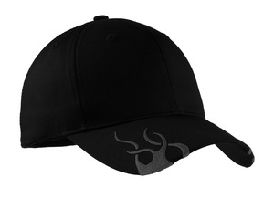 Port Authority® C857 Racing Cap with Flames