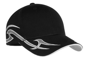 Port Authority® C878 Racing Cap with Sickle Flames