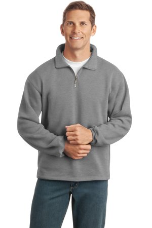Port Authority F292 Sueded Finish 1/4-Zip Sweatshirt
