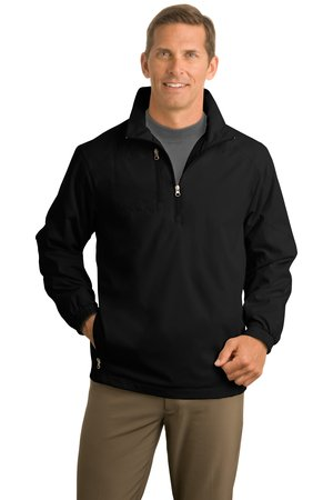 Port Authority® J703 1/2-Zip Wind Jacket