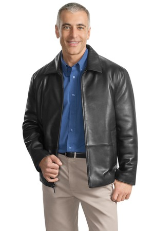 Port Authority® J785 Park Avenue Lambskin Jacket