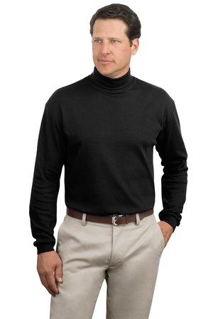 Port Authority® K322 Interlock Knit Turtleneck