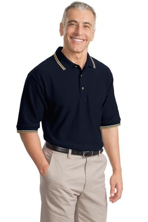 Port Authority® K431 Cool Mesh™ Polo with Tipping ...