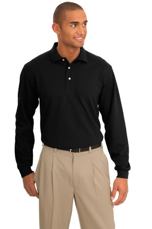 Port Authority® K455LS Rapid Dry™ Long Sleeve ...