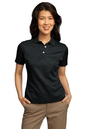 Port Authority® L459 Ladies Shadow Stripe Interlock ...