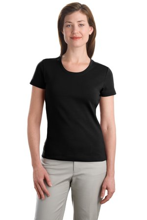 Port Authority® L516C Ladies Modern Stretch Cotton Scoop Neck Shirt