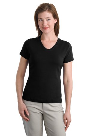 Port Authority® L516V Ladies Modern Stretch Cotton ...