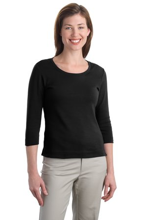 Port Authority® L517 Ladies Modern Stretch Cotton ...
