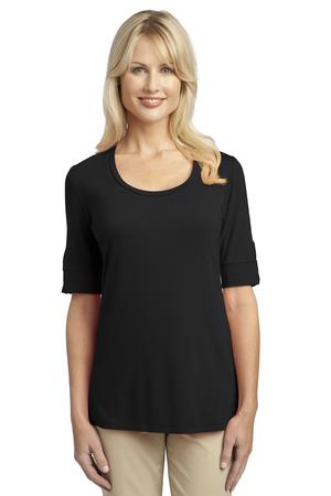 Port Authority® L541 Ladies Concept Scoop Neck Shirt
