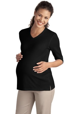 Port Authority® L561M Ladies Silk Touch™ Maternity ...