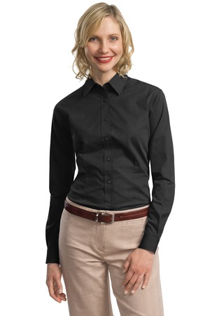 Port Authority® L613 Ladies Tonal Pattern Easy Care ...