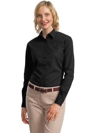 Port Authority® L634 Ladies Long Sleeve Value Cotton Twill Shirt