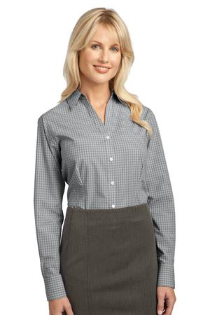 Port Authority® L639 Ladies Plaid Pattern Easy Care ...