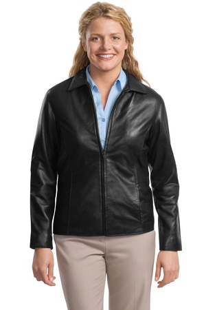 Port Authority® L785 Ladies Park Avenue Lambskin ...