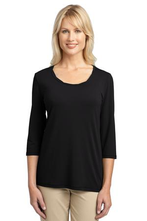 Port Authority® L542 Ladies Concept Rope Neck Shirt