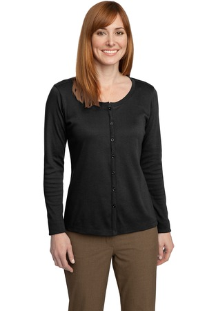 Port Authority® L530 Ladies Silk Touch™ Interlock ...