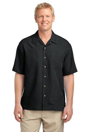 Port Authority® S536 Patterned Easy Care Camp Shirt