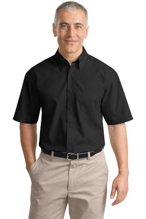 Port Authority® S633 Short Sleeve Value Poplin Shirt