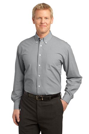 Port Authority® S639 Plaid Pattern Easy Care Shirt