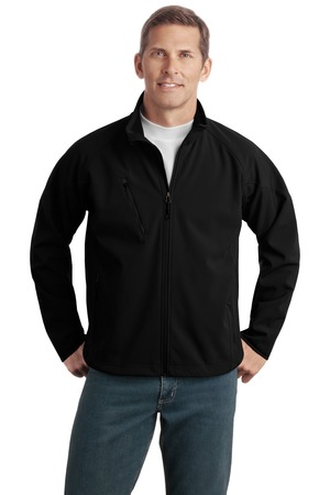 Port Authority® TLJ705 Tall Textured Soft Shell Jacket