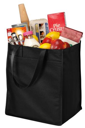 Port & Company® B160 Extra-Wide Polypropylene Grocery ...