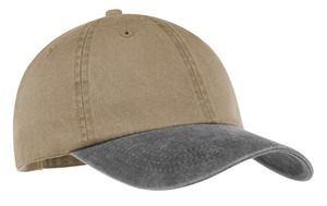 Port & Company® CP83 Two-Tone Pigment-Dyed Cap