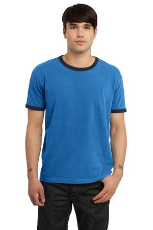 Port & Company® PC100 Essential Pigment-Dyed Ringer Tee