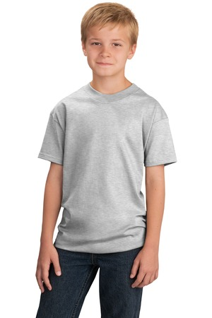 Port & Company® PC54Y Youth 5.4-oz 100% Cotton T-...