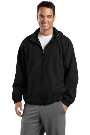 Sport-Tek® JST73 Hooded Raglan Jacket