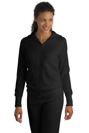 Sport-Tek® L265 Ladies Full-Zip Hooded Fleece Jacket