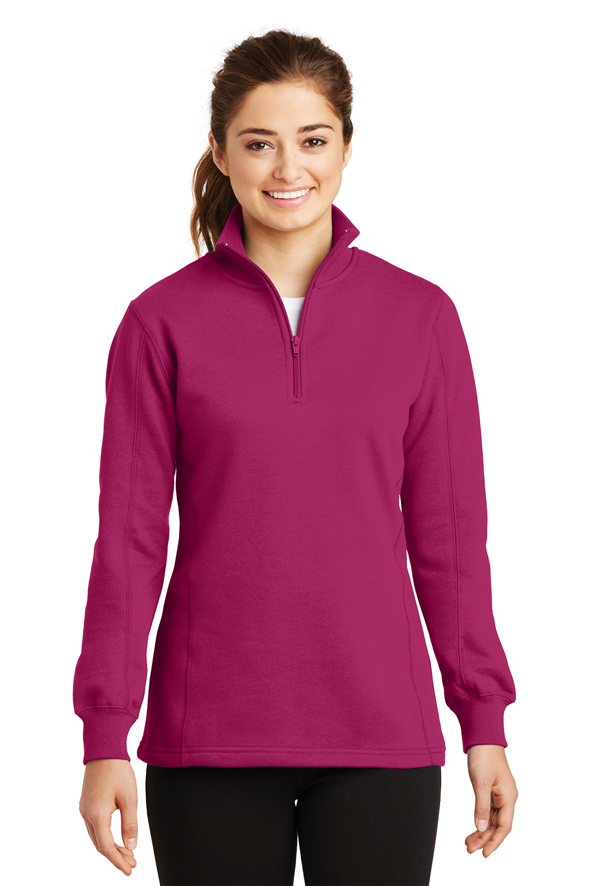 Sport-Tek® LST253 Ladies 1/4-Zip Sweatshirt