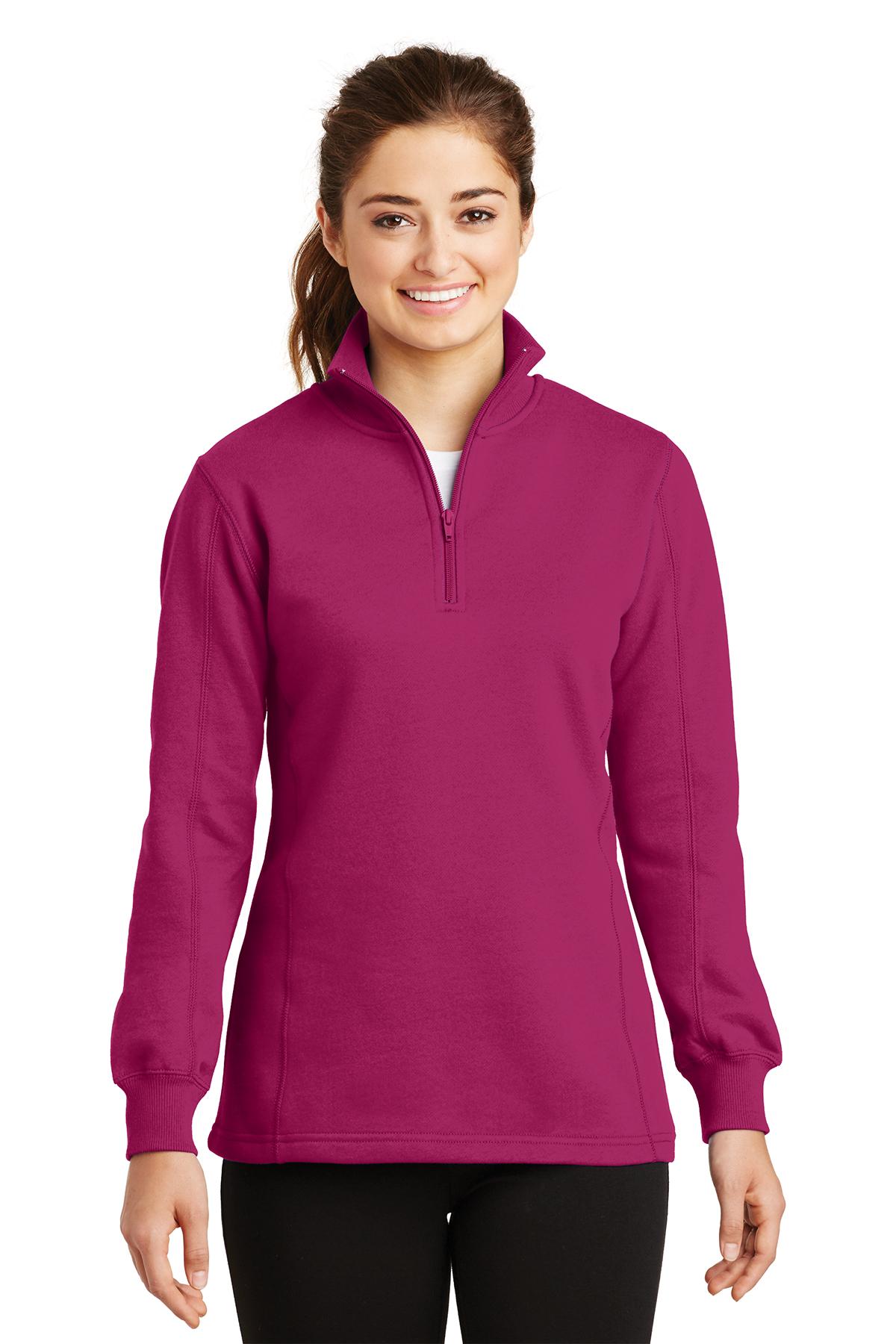 Sport-Tek® LST253 Ladies 1/4-Zip Sweatshirt