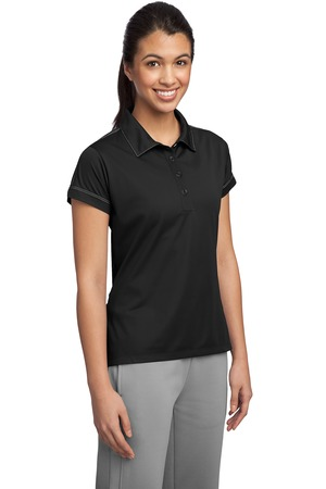 Sport-Tek® LST659 Ladies Contrast Stitch Micropique ...