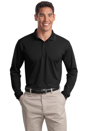 Sport-Tek® ST657 Long Sleeve Micropique Sport-Wick® Polo