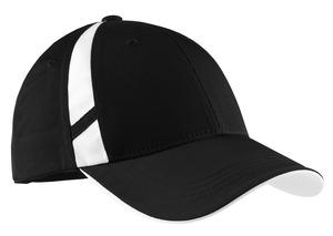 Sport-Tek® STC12 Dry Zone™ Mesh Inset Cap