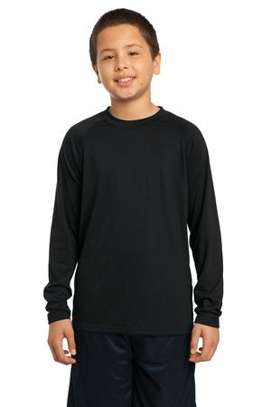 Sport-Tek® YST700LS Youth Long Sleeve Ultimate Performance ...