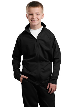 Sport-Tek® YST90 Youth Tricot Track Jacket