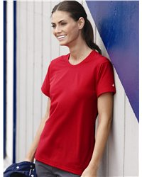 Badger 4860 - Ladies' B-Tech Cotton-Feel Short Sleeve ...