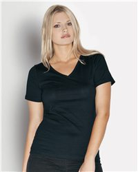 Bella 6405 - Missy Short Sleeve V-Neck T-Shirt