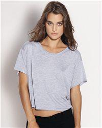Bella 8881 - Crewneck Flowy Boxy Cropped T-Shirt