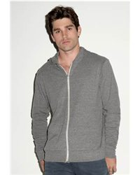Canvas 3939 - Triblend Unisex Lightweight Hooded Full-Zip T-Shirt