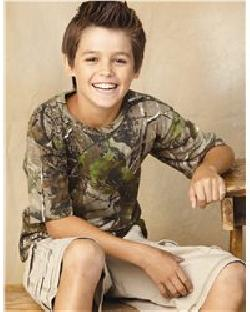 Code V 2280 - Youth Camouflage Short Sleeve T-Shirt