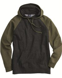 Independent Trading Co.-Raglan Hooded Pullover