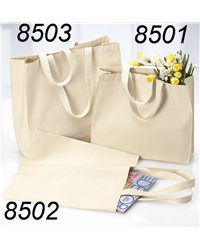 Liberty Bags 8503-12 Ounce Cotton Canvas Tote