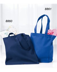 Liberty Bags 8861-Gusseted 10 Ounce Cotton Canvas Tote