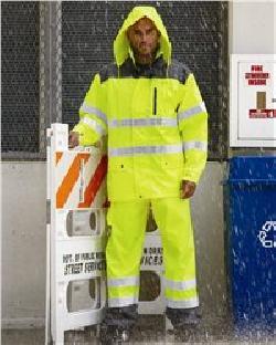 ML Kishigo RWJ104-Storm Cover Rain Jacket